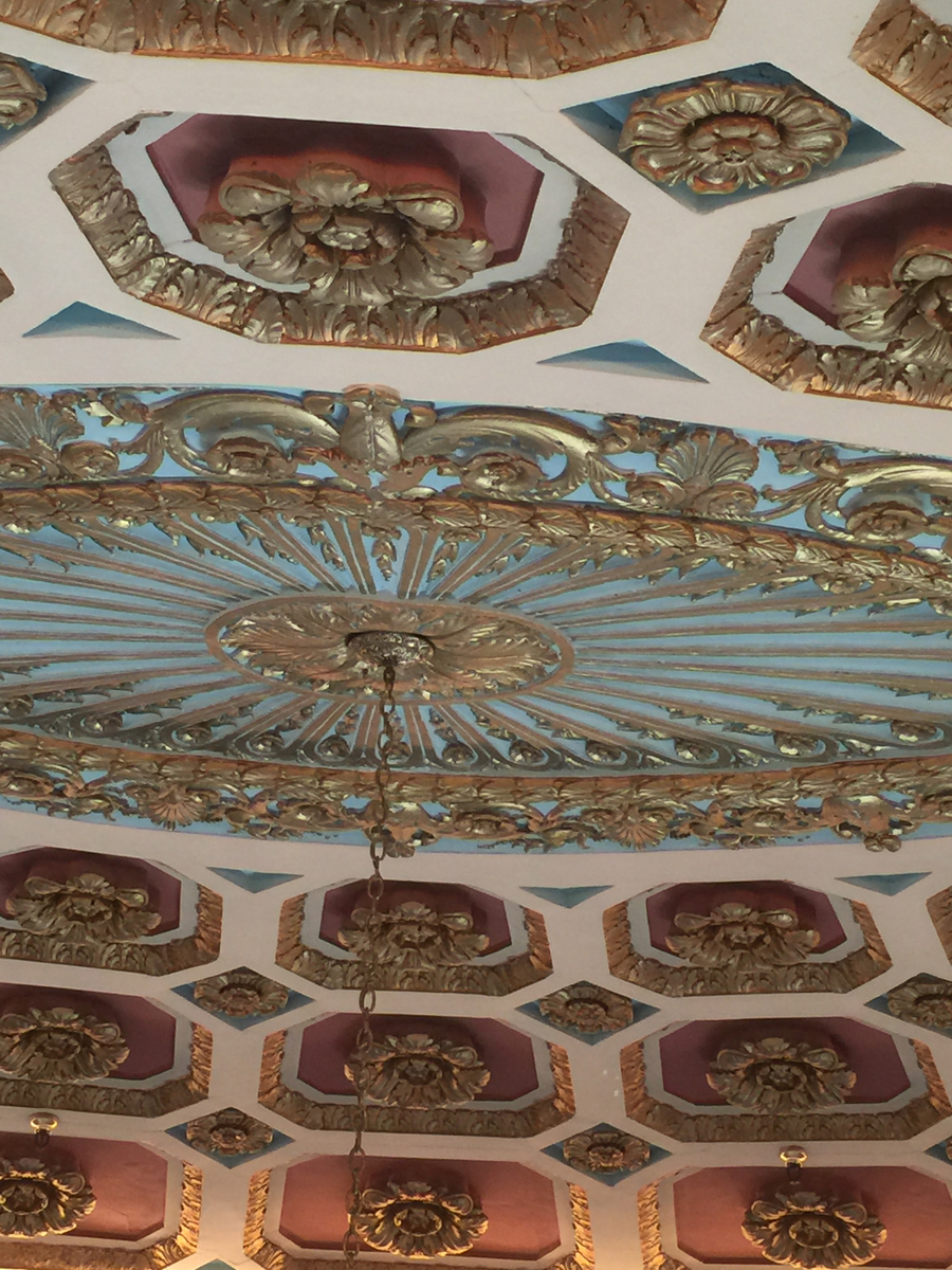 Ceiling at Strand Theater in Shreveport LA