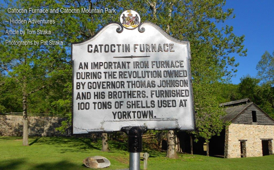 Catocin Furnace sign used for title