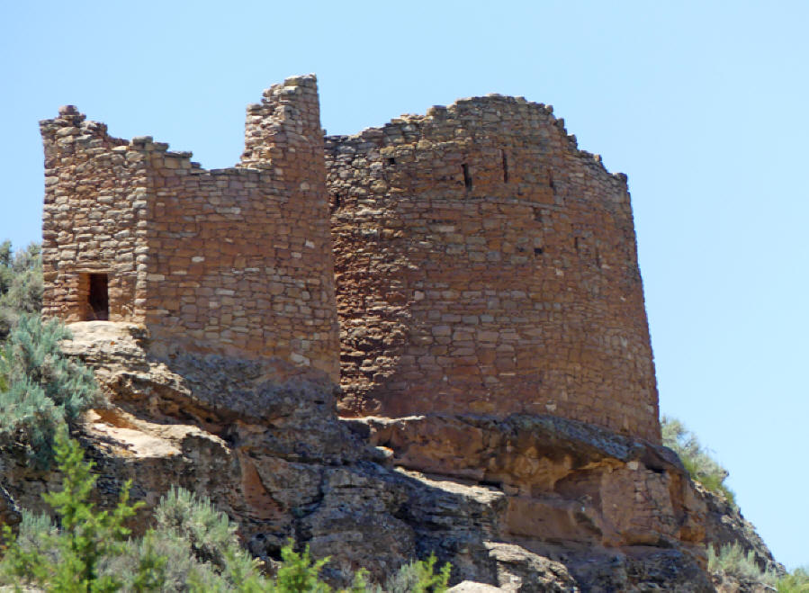 Twin Towers at Hovenweep