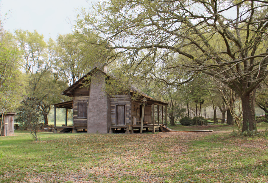 cabin at Rural Life Museum in 'baton Rouge, LA