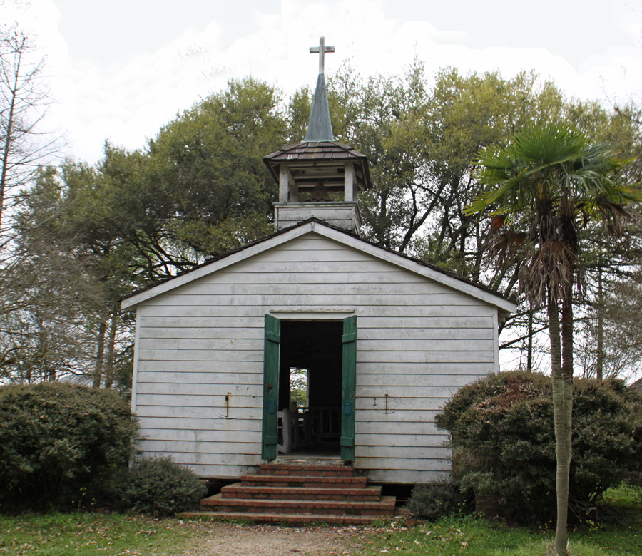 church at Rural Life Museum in 'baton Rouge, LA