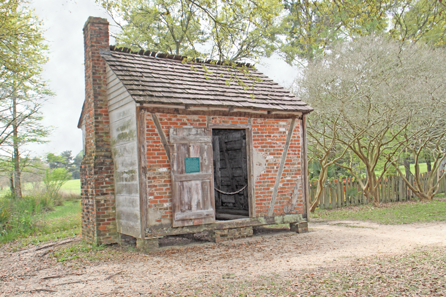 slave cabin at Rural Life Museum in 'baton Rouge, LA