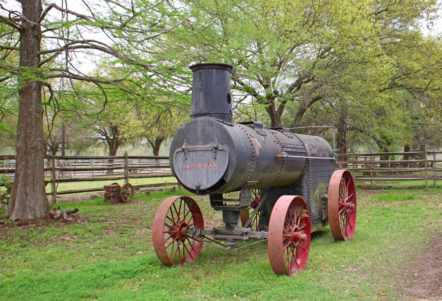 Farquhar Steam Tractor at Rural Life Museum in 'baton Rouge, LA