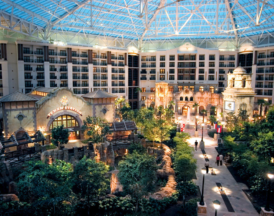 atrium in Gaylord Texan in Grapevine, Texas