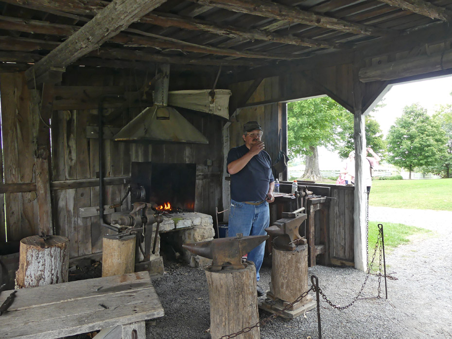 Belle Grove Plantation forge