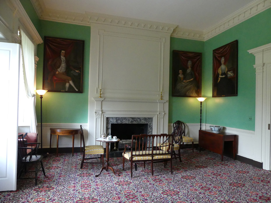 Belle Grove Plantation parlor
