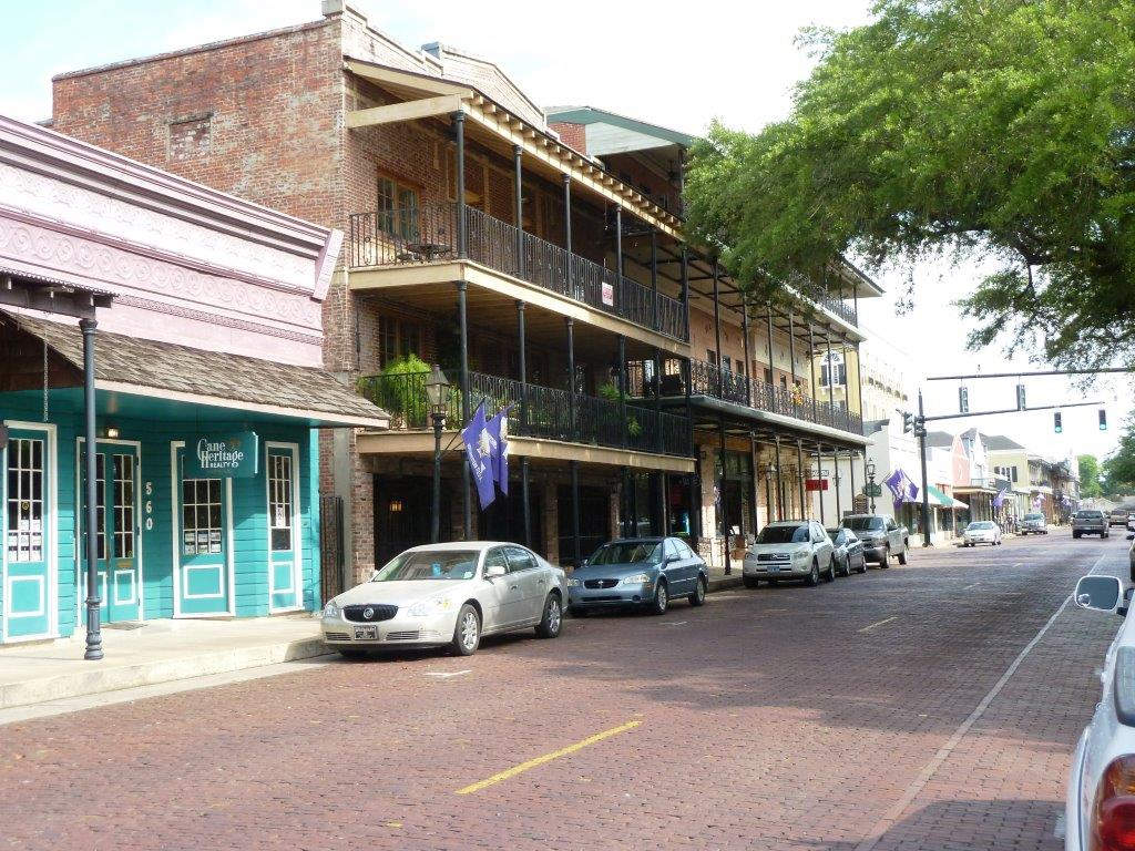 Historic district in Cane River