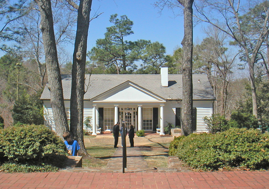FDR's Little white House in warm Springs, Georgia